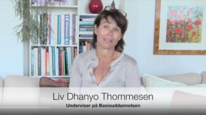 Liv Dhanyo Thommesen fortæller om Basisuddannelsen i Systemisk Opstilling