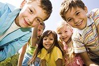 MAn kan se at børnene bliver glade af Systemisk Opstilling